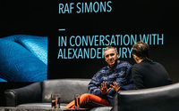 Raf Simons explores fashion landscape at Antwerp's Fashion Talks
