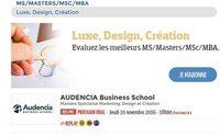 """Les écoles """"luxe, design et création"""" se présentent aux étudiants sur Campus Channel"""