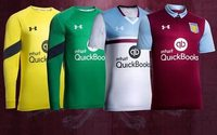 Under Armour debuts Aston Villa football club kits