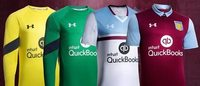 Under Armour debuts Aston Villa football club kits