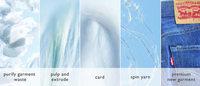 Levi Strauss & Co., Evrnu entwerfen Jeans aus recycelter Baumwolle