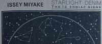 イッセイ ミヤケ、12星座を織り込んだデニム発売