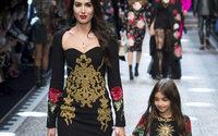 MFW: Dolce e Gabbana, sfilano Millennials e figli famosi