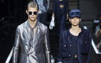 Emporio Armani, more a rally in favor of fashion than just a show