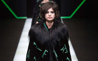 Giorgio Armani  - in between polemic with Gucci – takes Emporio in a pop direction