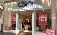 Jaeger cuts jobs, closes stores
