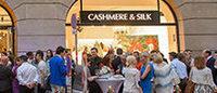 Первый европейский бутик Cashmere and Silk открылся в Вене