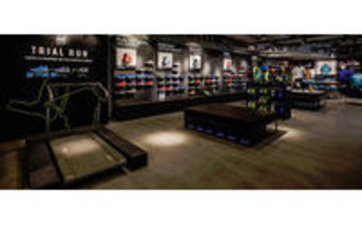 nike fait la part belle au running dans son magasin du. Black Bedroom Furniture Sets. Home Design Ideas
