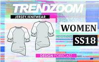 Trendzoom: Design Forecast Women Jersey & Knitwear S/S 18