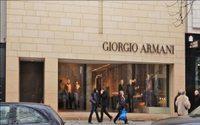 Armani trotzt der Luxusflaute