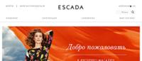Онлайн-магазин Escada в России