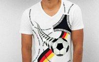 WM 2018: Das Fan-Shirt zeigt Flagge
