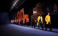 Dior Men: Dandy militarism before a private audience