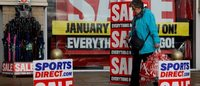 Sports Direct to drop out of FTSE 100 in reshuffle