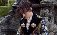 Harry Styles poses with farm animals in latest Gucci campaign