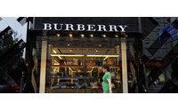 Burberry shares slump almost 18% on shock profit warning