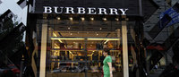Burberry shares slump almost 18% on shock profit warning