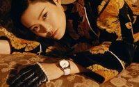 Chris Lee è la protagonista della campagna Gucci orologi e gioielli