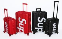 Supreme collaborates with Rimowa on premium luggage collection