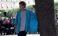 Issey Miyake's Homme Plissé dances under the trees