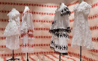 Simone Rocha installation arrives at Dover Street Market NY