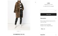 PETA buys Farfetch shares to increase anti-fur pressure