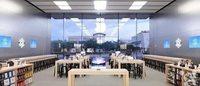 苹果连续三周在中国地区开出新店