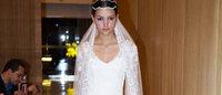 Vestidos de noiva são apresentados durante o Fashion Casar 2013