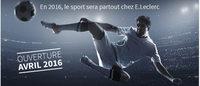 E.Leclerc : lancement ce mercredi d'un site e-commerce dédié au sport