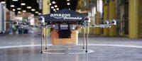 Amazon: entro 5 anni distribuirà pacchi con mini-droni elicotteri