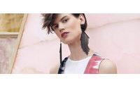 Missoni fait appel au mannequin Saskia De Brauw pour sa nouvelle campagne
