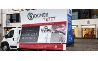 Anti-Pelz-Kampagne gegen Bogner in Berlin unterwegs