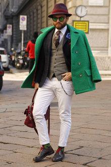 Street Fashion Milan N266