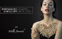 Gioielleria portoghese: nuova campagna di comunicazione con Milla Jovovich