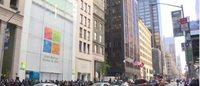 Microsoft apre un negozio sulla Fifth Avenue, dove prima c'era Fendi