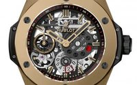 Hublot's new manufacture movement gets a Magic Gold case