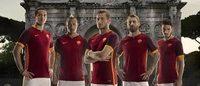 Roma lança novo uniforme inspirado em gladiadores