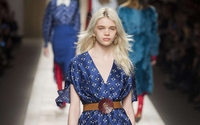 Fendi seduces Milan with exquisite prints
