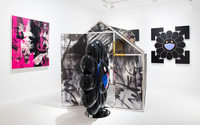 Virgil Abloh, Takashi Murakami show opens at Gagosian London