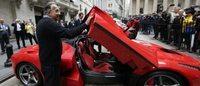 Ferrari: FCA lancia l'Ipo, venderà il 9% delle azioni del Cavallino