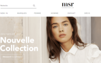 Monoprix repense l'e-shop MonShowroom, qui devient MSR