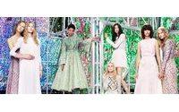 """Dior com inspiração flamenca e """"alta pele"""" da Fendi marcam Alta-costura de Paris"""