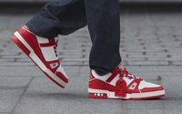 Louis Vuitton ups support for RED with new sneaker