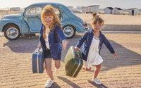 Sézane et Bonton habillent les petites filles