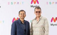 Esprit schließt mit Myntra eine Partnerschaft für eine erfolgreiche Rückkehr nach Indien ab