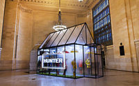 Hunter opens pop-up in NYC's Grand Central Terminal
