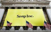 Aktie der Snapchat-Firma fällt unter Ausgabepreis