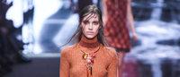 Los estampados y los tonos pastel, reyes del segundo día de la Moda de Milán