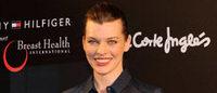Milla Jovovich graba la próxima campaña de moda de otoño con El Corte Inglés