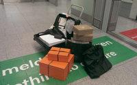 40.000 Euro Einkauf landet beim Zoll am Düsseldorfer Flughafen